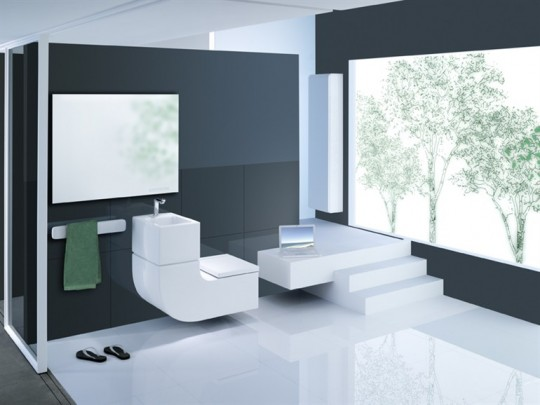 Roca Bathrooms W+W Toilet and Basin